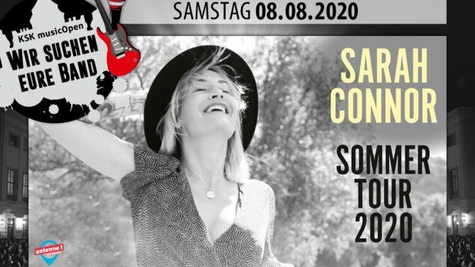 Jetzt als Support für Sarah Connor bei den KSK Open bewerben!
