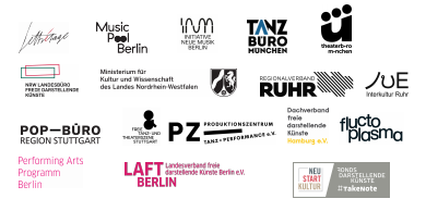 Logos der fördernden Insitutionen